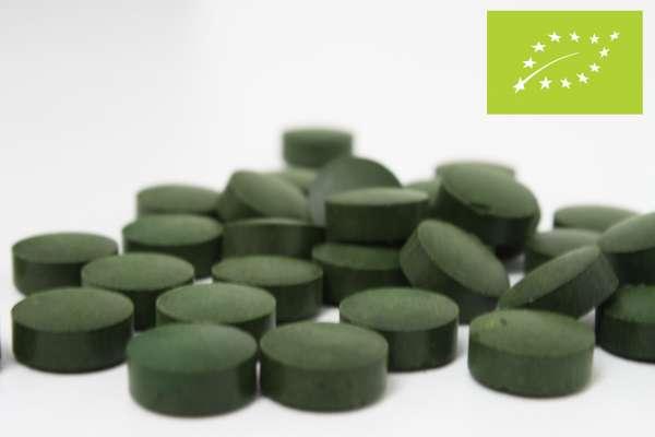 Spirulina BIO , 450 Tabletten